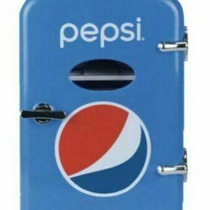 New Pepsi Portable 6 Can Mini Fridge